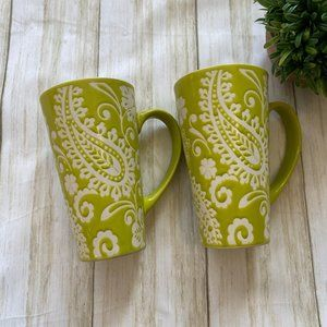 The Essential Pair of Green Coffee Mugs